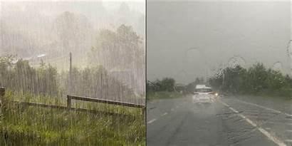 Weather Ireland Rain Irish Forecast Week Heavy