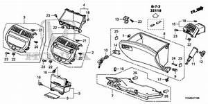 Instrument Panel Garnish  Passenger Side  2010 Honda Accord Coupe Parts Lx