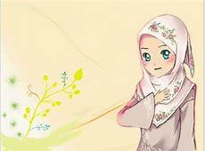 11+ Muslimah Cantik Kartun yang Aduhay 2017 Hijabers Cantik