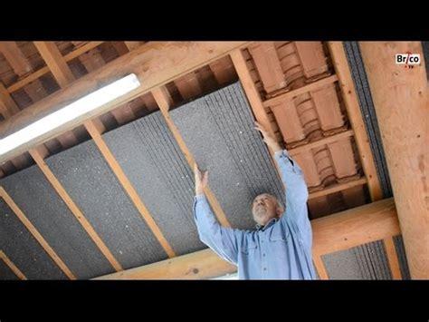 isoler facilement la sous toiture avec des panneaux de