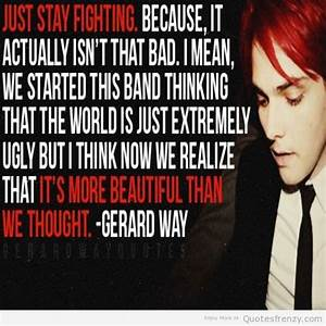 Quotes From My Chemical Romance. QuotesGram