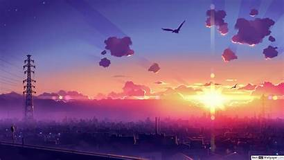 Anime Cityscape Wallpapers Wallpaperaccess
