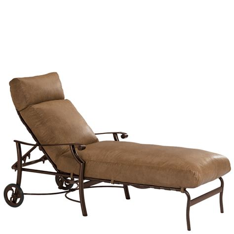 Tropitone Chaise Lounge Chairs by Tropitone 720232w Montreux Cushion Chaise Lounge Discount