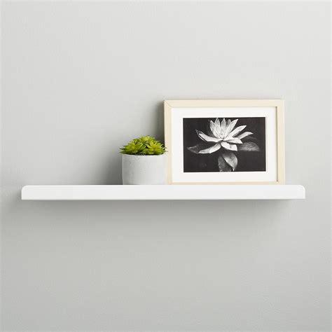 ledge shelves umbra simple ledge wall shelf