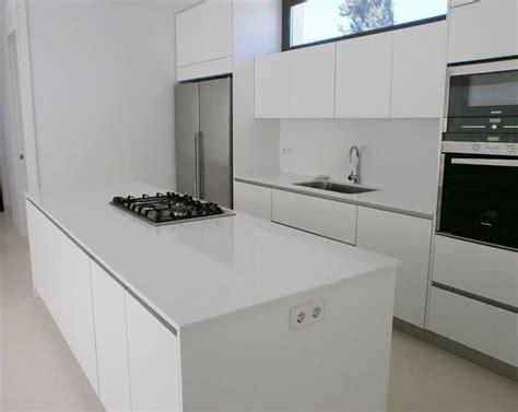 cocinas  islas modernas blancas cocinas
