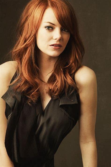 Emma Stone Hair Color - Hair Colar And Cut Style