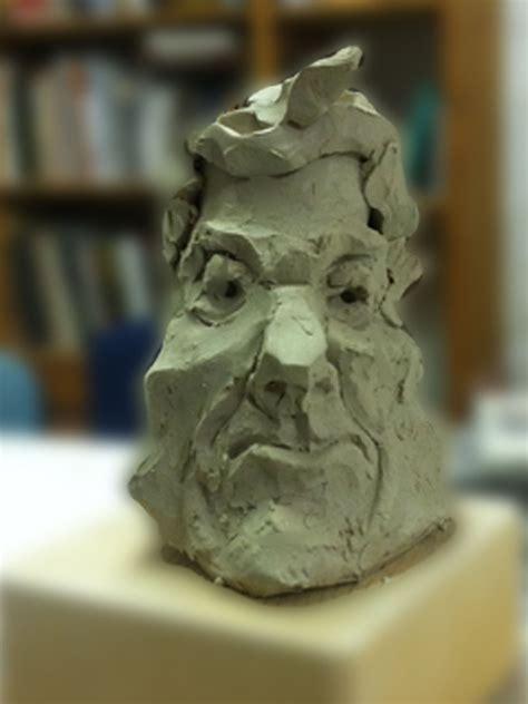 studie  ton portrait ausdruck keramik kraft von