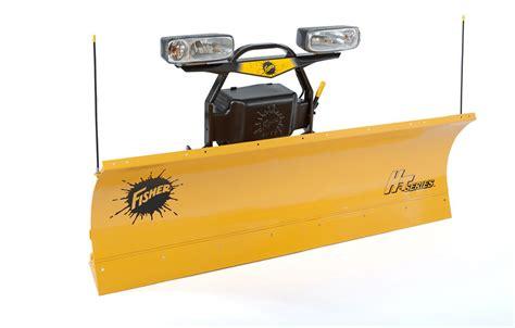 light duty truck plow fisher ht series snow plow dejana truck utility equipment