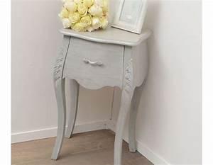 table de chevet romantique With table de nuit romantique