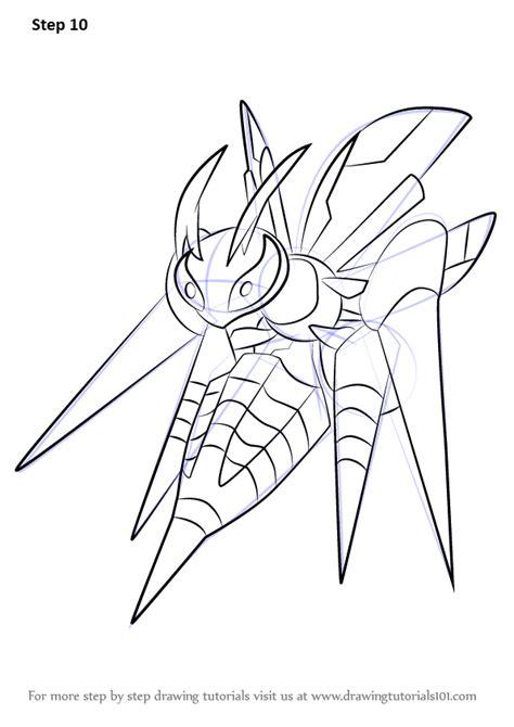 learn   draw mega beedrill  pokemon pokemon