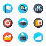 Career Icons Advancement Vector