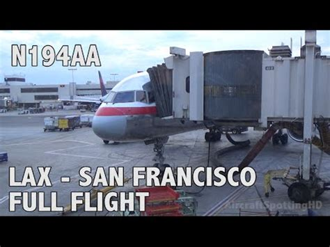 American Airlines Aa1294 Los Angeles(lax)  San Francisco
