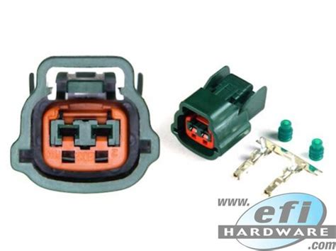 nissan  pin connector green