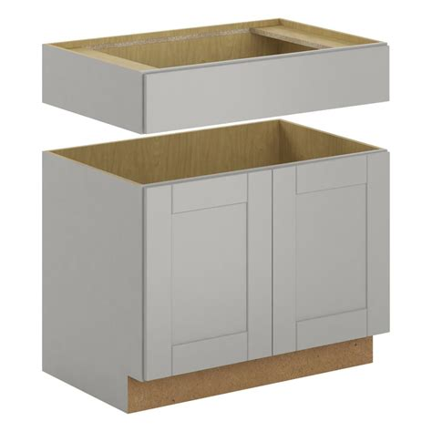 apron sink base cabinet shaker assembled 36x345x24 in farmhouse apron front sink