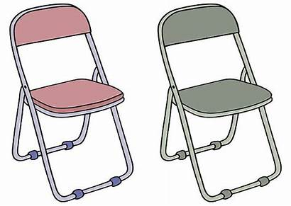 Chair Camping Camp Vector Illustrations Clip Chairs