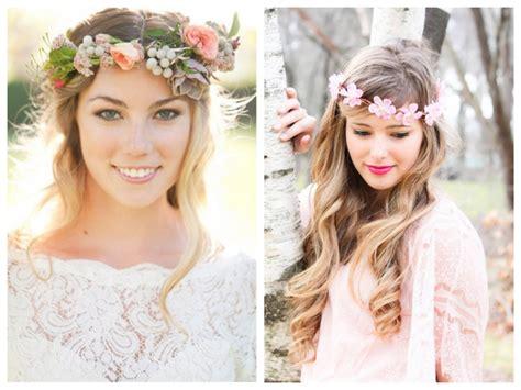 wedding trends flower crowns wedding flowers mallorca