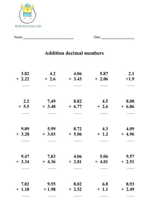 multiplication worksheets for 5th grade paperandcotton