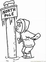 Pole North Coloring Sticky Ice Sheets Poles Printable Getcolorings Coloringpages101 Popular sketch template
