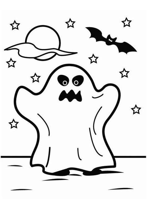 Kleurplaat Spook by Kleurplaat Spook Afb 26451 Images