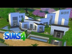 Sims 4 Speed Build Stratford House 'Modern Mansion
