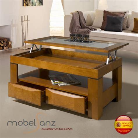 mesa de centro  cajones