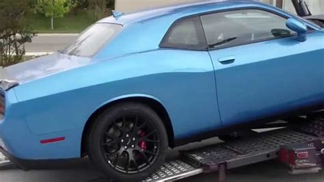 blue hellcat  delivered youtube
