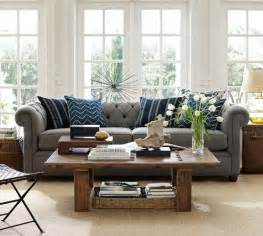 Pottery Barn Grand Sofa dark gray couch pillows living room pinterest