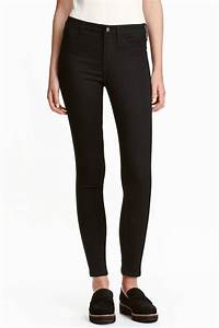 Hu0026m Skinny Regular Ankle Jeans in Black - Save 14% | Lyst