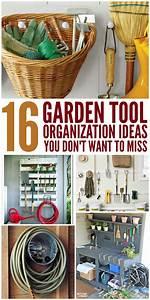 16 genius garden tool organization ideas
