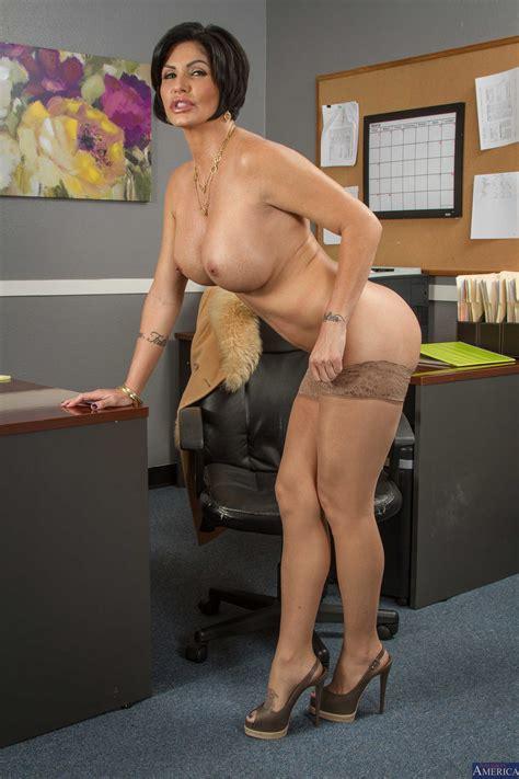 Milf With Big Tits Is A Good Secretary MILF Fox