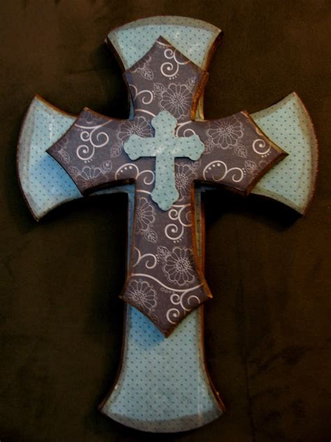 decorative stacked cross wall hanging free shipping