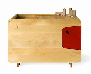 Coffre Jouet Bois : coffre jouet en bois rouge pelican ~ Teatrodelosmanantiales.com Idées de Décoration