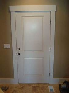 lovely square style door trim ideas part 1 shaker style With interior doorway trim ideas
