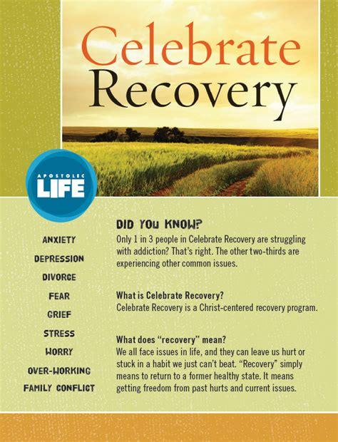 celebrate recovery apostolic life apostolic life