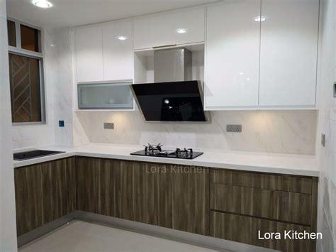 stunning modern kitchen cabinet design  malaysia lora