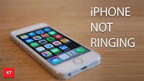my iphone will not ring why is my iphone not ringing