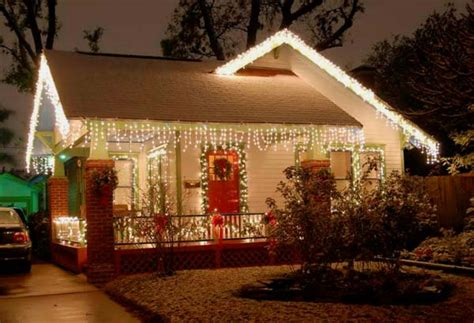 ideas for christmas lights on a ranch house top 46 outdoor lighting ideas illuminate the spirit