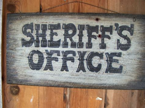 custom western town style painted signs  holly vintage
