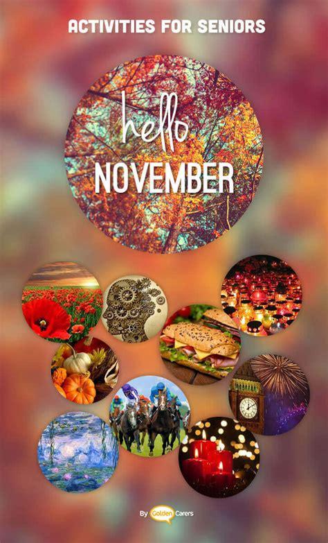 november  ideas activities calendar