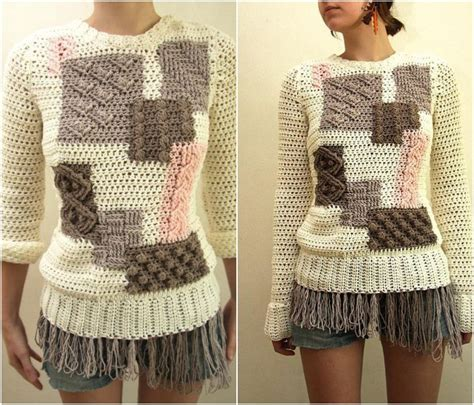 how to crochet a sweater how to crochet sweater crochet and knit