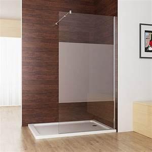 Duschwand Glas Walk In : walk in dusche duschabtrennung duschwand 10mm nano teilsatin glas 80 x 200cm cc miqu ~ A.2002-acura-tl-radio.info Haus und Dekorationen