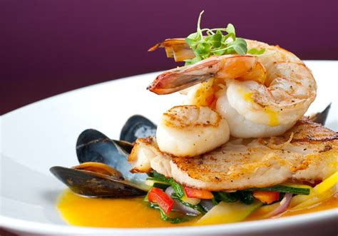 ea cuisine a delicious array of sea food fresh from the