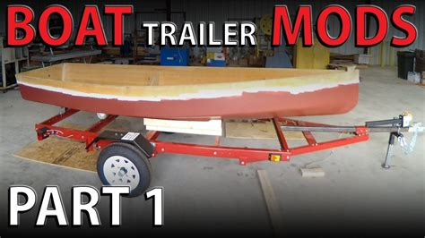 Jon Boat Trailer Rebuild by Boat Trailer Parts Ftempo
