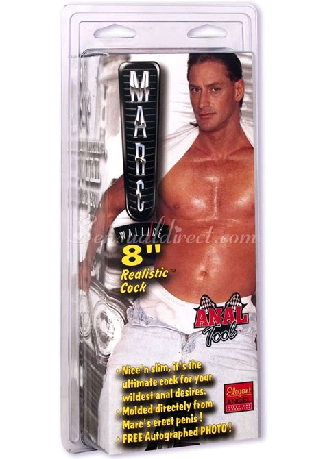 Marc Wallice 8 Realistic Cock Disc Celebrity Cock