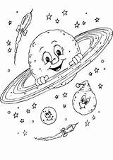 Space Coloring Pages Theme Themed Printables Printable Colouring Planet Preschool Planets Solar System Kıds sketch template