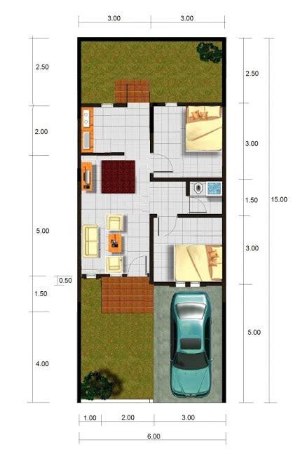 contoh desain gambar rumah minimalis type  terbaru