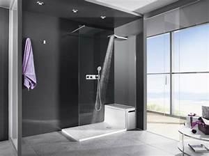 la douche a l39italienne le choix branche pour la salle de With porte d entrée alu avec profondeur niche salle de bain