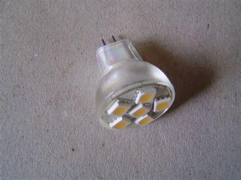 mr8 6led cool white bulb 10 30 v dc