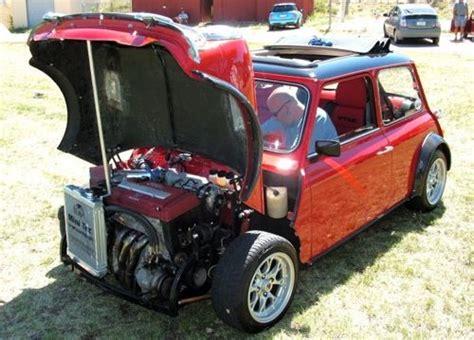 Mini Cooper Honda Engine   Mini cooper, Mini cars, Engine swap