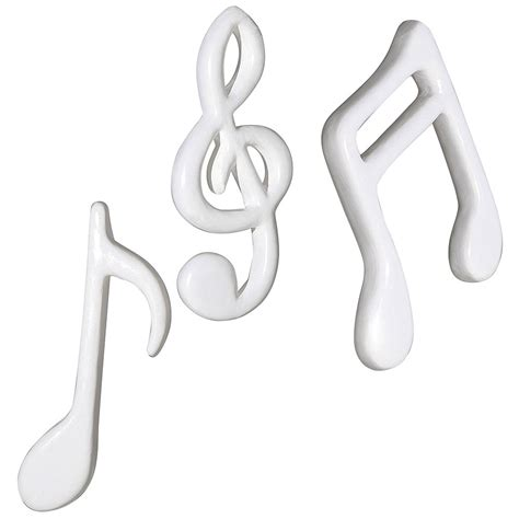 d 233 co suspension d 233 co notes de musique blanche 30 cm d 233 coration chez decowoerner